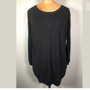 Wilfred Aritzia Cashmere Silk 3/4 Sleeve Sweater